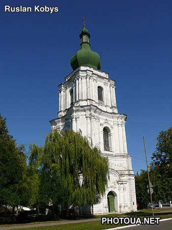 Pereyaslav-Khmelnitsky Bell Tower of the Cathedral of Ascension.