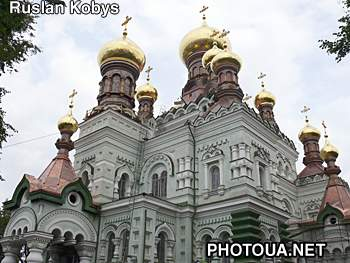 The Holy Virgin Convent in Kiev St. Nicolas cathedral