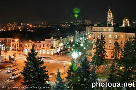 Sumy Central downtown