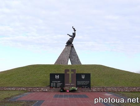 Novograd-Volynsky Memory Memorial of innocently killed