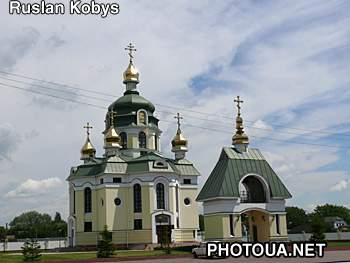Grebinky. Kyiv region. Church