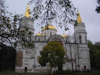 Chernigiv. The Saviour Cathedral.