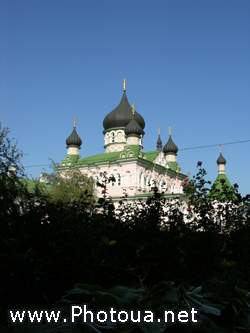 Holy Virgin Convent in Kiev Protection of the Virgin Church