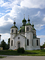 Kozelets. Chernigiv region. Church of Ascension
