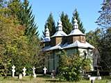 Pereyaslav-Khmelnitsky. museum of Folk Life and Architecture. Museum of History of Ukrainian Orthodox Church in the old wood Church.