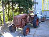 Pereyaslav-Khmelnitsky. museum of Folk Life and Architecture. Tractor